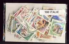 Italie - Italy 100 timbres différents