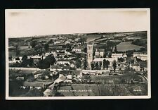 Somerset BLEADON General view with church Used 1951 RP PPC