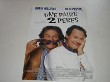 AFFICHE PROMO VIDEO CLUB--UNE PAIRE 2 PERES--WILLIAMS/CRYSTAL/REITMAN