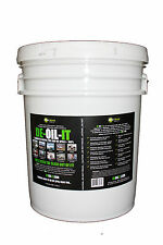 NEW De-Oil-It Grease Fuel and Oil Eliminator 5 Gallon Concentrate Pail - L@@K!