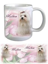 Maltese Dog Ceramic Mug by paws2print