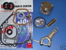 HONDA GX160 PISTON & RINGS, CONROD & GASKET SET, CRANKSHAFT SEALS