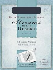 Streams In The Desert Journal, Cowman, Ms. Charles  E., Good Book