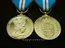 FULL SIZE BRITISH QUEENS GOLDEN JUBILEE MEDAL QGJM REPLACEMENT COPY