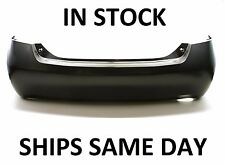 NEW Primered - Rear Bumper Cover Replacement For 2007-2011 Toyota Camry Sedan