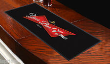 PERSONALISED RED LABEL BAR RUNNER IDEAL FOR HOME COCKTAIL PARTY OCCASION