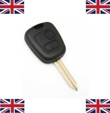 2 Button Replacement Key Fob Case+ Blade For Citroen Saxo Xsara Picasso Berlingo