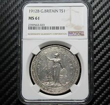 1912 B Great Britain Trade Dollar NGC MS61 (63023)