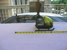 "Vintage Gay Toys Inc. U.S. Army Helicopter 85B9~ 15"" Length~Item 785`Made In USA"
