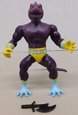 Remco Warrior Beasts SNAKEMAN W/ STRAIGHT/SMOOTH TAIL - KO He-Man -Sized Figure