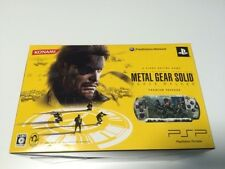 SONY PSP Console METAL GEAR SOLID PEACE WALKER KONAMI STYLE Limited Edition JP