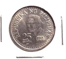 CIRCULATED 1982 25 SENTIMOS PHILIPPINE COIN!!