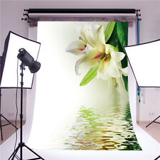 photography backdrops for baby props vinyl 5x7FT flower background photo studio