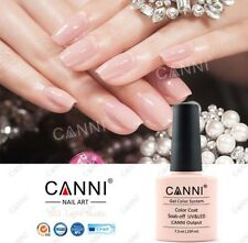 101 CANNI LUCE Nude Beige Uv Led Gel Soak Off COLORI NAIL ART 7.3ml UK Venditore