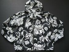 POLO RALPH LAUREN Men's Floral-Print Hoodied Windbreaker S
