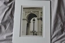 sepia photo art print picture the arc de triomphe paris street lamp peacock