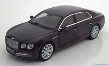 1:18 Kyosho Bentley Flying Spur W12 Damson dunkelviolett-metallic