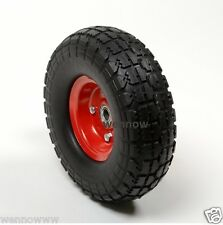 "2 x10"" Flat Free Tire for Hand Truck Tire dolly w 5/8"" ID Bearing Filled w/ foam"