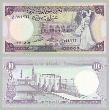 Syrien / Syria 10 Pounds 1991 p101e unz.