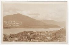 PRINCE RUPERT BRITISH COLUMBIA CANADA RPPC Real Photo Postcard HARBOR Aerial