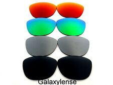 Galaxy Replacement Lenses For Oakley Frogskins Black&Gray&Green&Red 4 Pairs