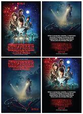 Netflix STRANGER THINGS Season One - 2 Card PROMO Set - Winona Ryder
