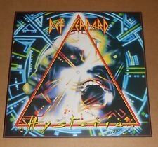 Def Leppard Hysteria 2-Sided Flat Square Poster 12 x 12 RARE