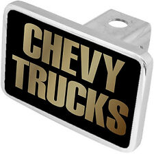 New Chevy Trucks Gold Word Tow Hitch Cover Plug