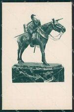 Militari Nizza Cavalleria cartolina QT7956