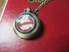 Ghost Busters Pocket Watch Pendant