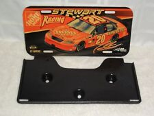 NASCAR Tony Stewart Vintage #20 Home Depot Racing License Plate Auto Tag.