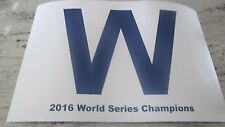 2017 CHICAGO CUBS-OPENING DAY-4/10-RAISE THE BANNER- 2016 CHAMPIONS SIGN 12 X18