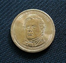 2010-D Millard Fillmore $1 One Dollar U.S. Presidential Coin Denver Mint USA
