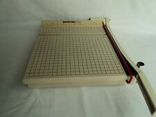 """Boston 2612 Paper Cutter 12"""" by 12"""" Large Guillotine Scrapbooking Crafts Teacher"""