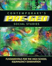 Contemporary's Pre-Ged Social Studies (Contemporary's Pre-GED Series)-ExLibrary