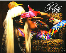 LADY GAGA AUTOGRAPH SIGNED PP PHOTO POSTER