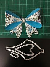 bow Cutting Die for Sizzix Spellbinders Etc. Machine