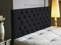 headboard 3ft,4ft,4ft6,5ft,6ft with height option