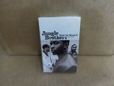 JUNGLE BROTHERS HOW YA WANT IT  FACTORY SEALED CASSETTE SINGLE