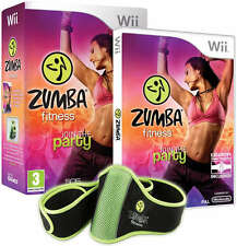 Zumba Fitness Wii - with fitness belt *in Excellent Condition*