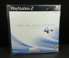 Online Start Up Disc Ver 4 Broadband NEW factory sealed Sony PlayStation 2 PS2 3