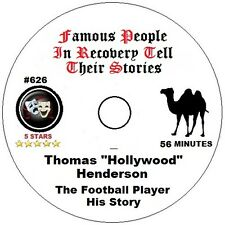 """Alcoholics Anonymous AA Speaker CD - Thomas """"Hollywood"""" Henderson His Story"""