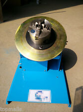 2-20RPM 10KG Light Duty Welding Turntable Positioner With 80mm Chuck AC 110-240V