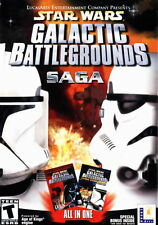 STAR WARS: Galactic Battlegrounds Saga PC (Win XP, Vista, 7, 8, 10)