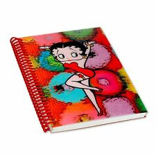Betty Boop Multicolored Sphere Lenticular 3D Notebook 4x6in 144 Page #BB-210-NB#