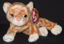 TY AMBER the CAT BEANIE BABY - MINT with MINT TAGS