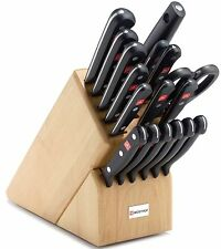 Wusthof Gourmet 18 Piece  Promo Block Knife Set 9718 NEW IN Box AUTH DEALER