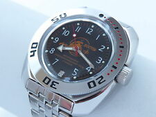 Man's Fashion VOSTOK Russian military Amphibian diver 200m. auto watch VA#710380