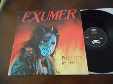 EXUMER Possessed By Fire DISASTER LP 1986