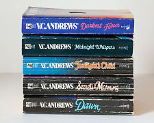 Lot of 5 CUTLER Series Complete Set of Books by VC Andrews Dawn Secrets Morning